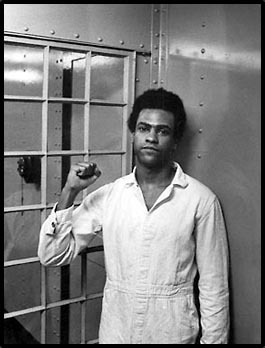 Description: Huey Newton in Jail