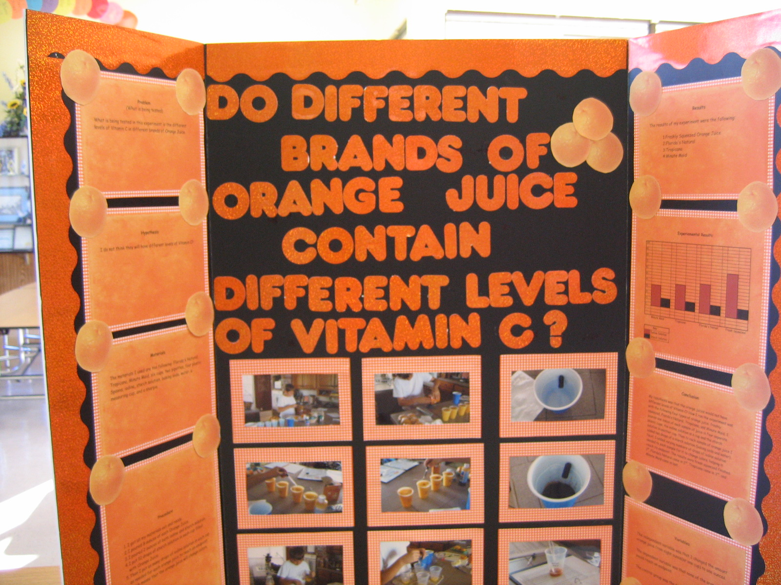 do different brands of orange juice contain different