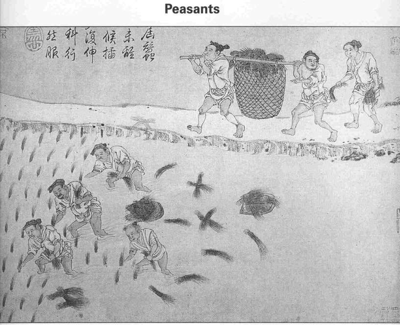 Peasants Of Ancient China