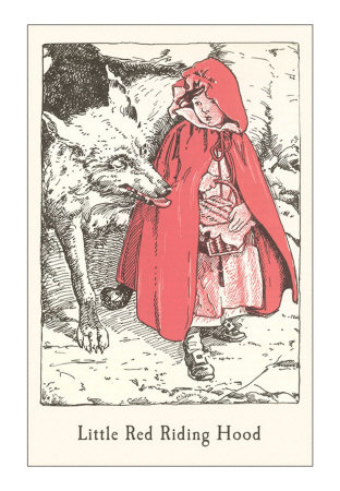 plot and character analysis in little red riding hood and the company of wolves Everything you ever wanted to know about little red cap in grimms' fairy tales little red cap back next character analysis never talks to wolves or.