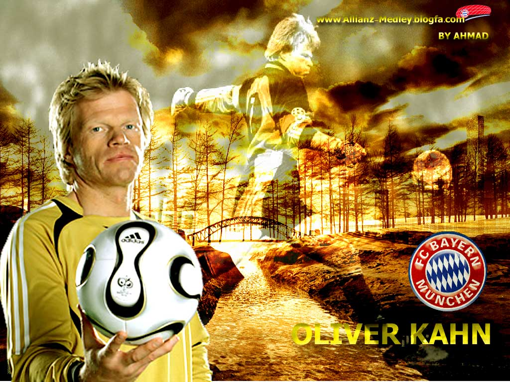 oliver kahn one of the best goalkeeper of the world