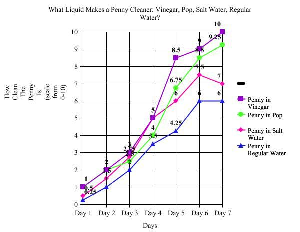 Which Liquid Makes a Penny Cleaner?