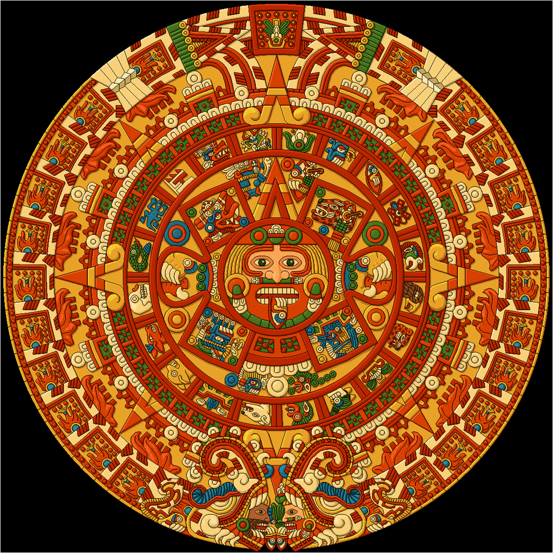 the aztec calender