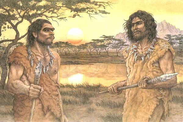 vestimenta prehistoria: