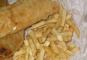 reading: Fish and chips