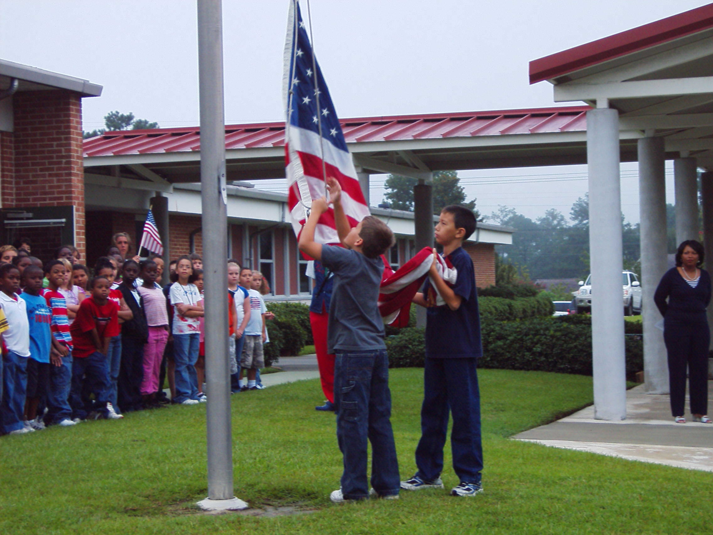 Claude A. Taylor Elementary Celebrates We Love America Week