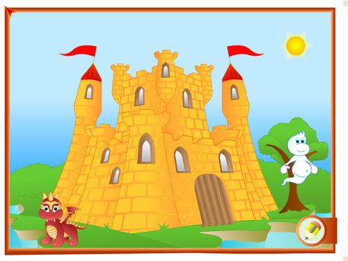 Dibujo de castillo infantil  Imagui